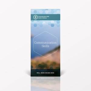 Communication Skills pamphlet/brochure (6080H1)