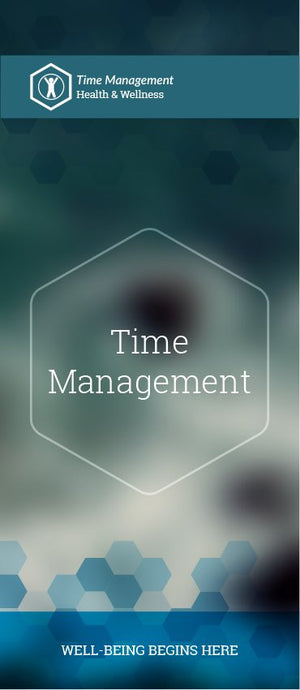 Time Management pamphlet/brochure (6081H1)
