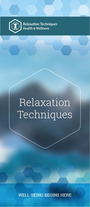 Relaxation Techniques Pamphlet/Brochure (6083H1)