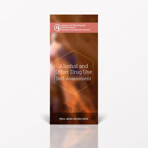Alcohol & Other Drug Use Self-Assessment pamphlet/brochure (6086S1)
