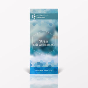 Stress Self-Assessment Pamphlet/Brochure (6098H1)