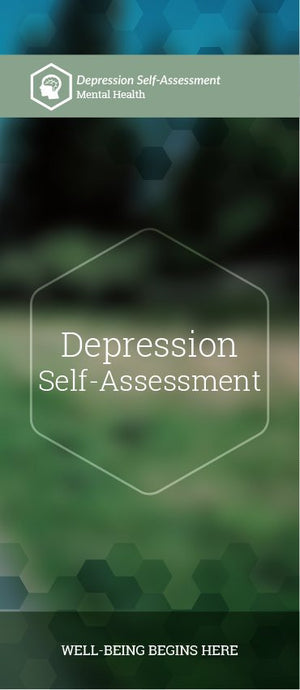 Depression Self-Assessment pamphlet/brochure (6100M1)