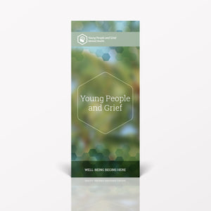 Young People and Grief pamphlet/brochure (6101M1)