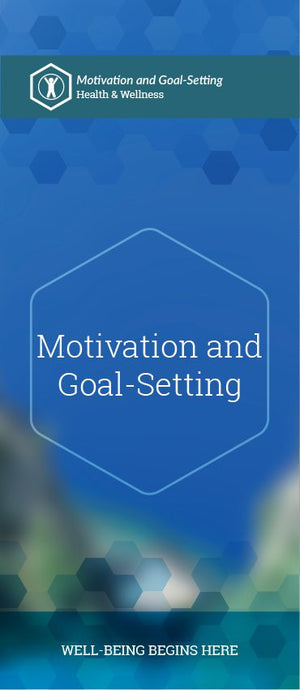 Motivation and Goal-Setting pamphlet/brochure (6115H1)