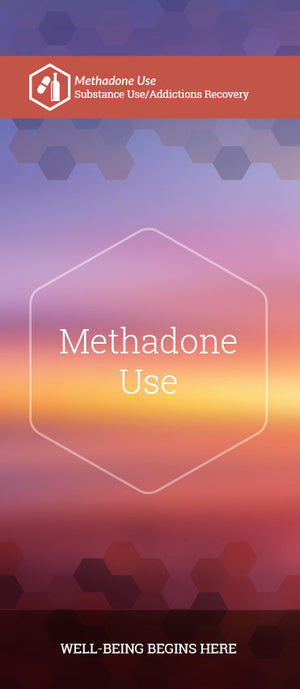 Methadone Use pamphlet/brochure (6170S1)
