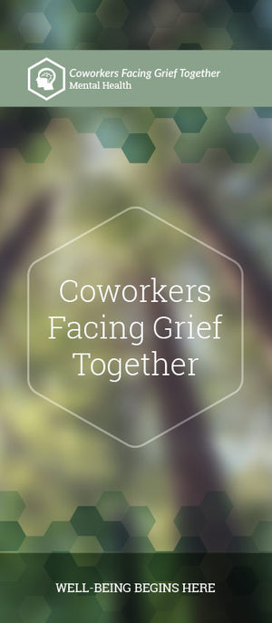 Coworkers Facing Grief Together Pamphlet/Brochure (6180M1)