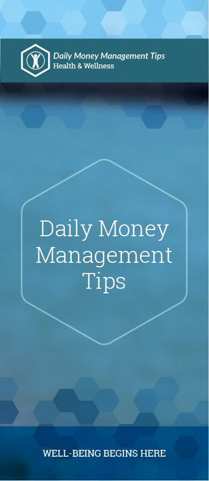 Daily Money Management Tips pamphlet/brochure (6184H1)