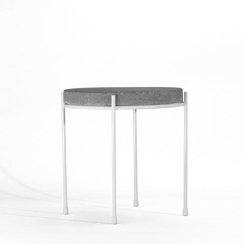 high earth side table
