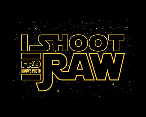 I SHOOT RAW - Hoodie - Space SALE