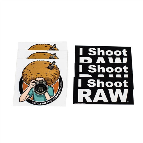 Six Sticker Pack - froknowsphoto