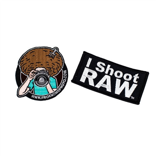 Three-Pack of I SHOOT RAW Patches - froknowsphoto
