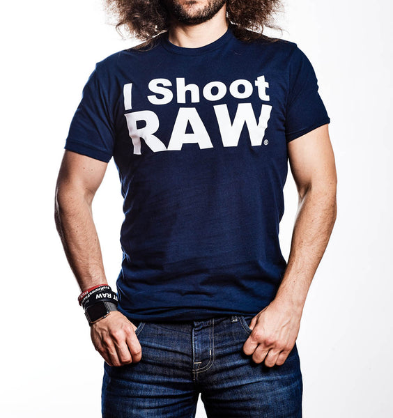 NEW Original I SHOOT RAW Vintage Navy - froknowsphoto