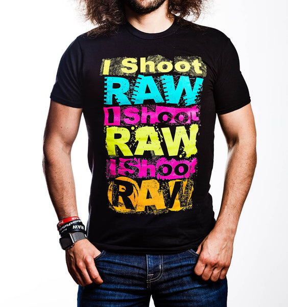 I SHOOT RAW - Designer Six-Color - froknowsphoto