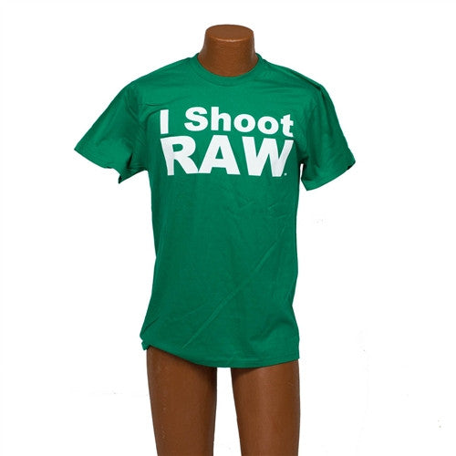 I SHOOT RAW Limited Edition Kelly Green