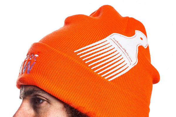 Winter Hat - Orange - froknowsphoto