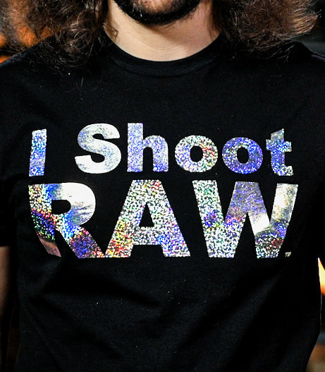 I SHOOT RAW - DISCO BALL (LIMITED EDITION FOIL) - froknowsphoto