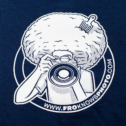 NEW Original I SHOOT RAW Vintage Navy