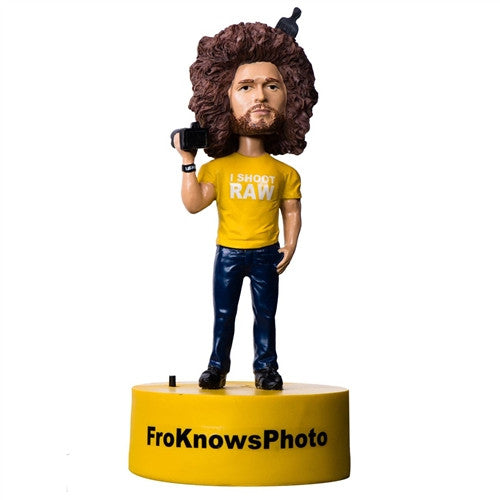 "FroKnowsPhoto ""Limited Edition"" Talking Bobble Head - froknowsphoto"