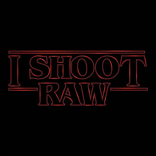 "I SHOOT RAW ""Stranger Things"" Limited Edition"