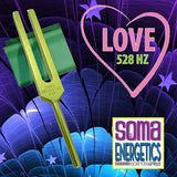 528 LOVE Tuning Fork KIT - A SomaEnergetics Exclusive! - SomaEnergetics Sound Tools & Training