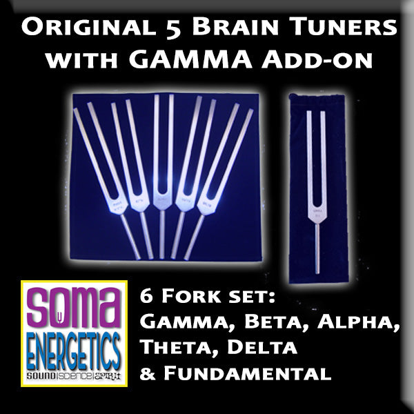 Brain Tuners: Set of 6 including GAMMA!
