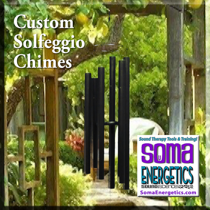 Solfeggio Wind Chimes - Custom Made Exclusively for SomaEnergetics! - SomaEnergetics Sound Tools & Training