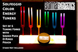 Solfeggio Energy Tuners - Etheric Color Tuning Forks! - SomaEnergetics Sound Tools & Training