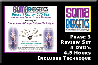 Phase 3 Review DVD Set - SomaEnergetics Sound Tools & Training