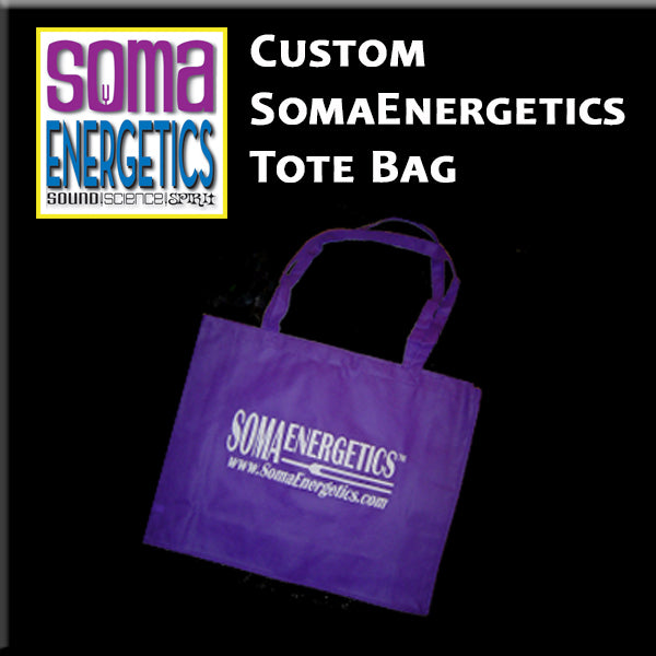 SomaEnergetics Tote Bag for all your Soma Goodies! - SomaEnergetics Sound Tools & Training