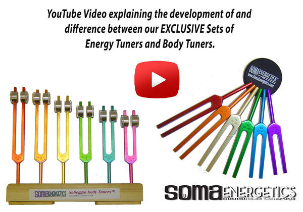 chakra chart body tuners: Solfeggio body tuning forks on physical energy pathways