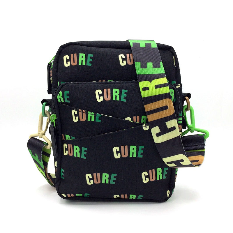 Cannabis Mini Messenger Bag CURE Greens