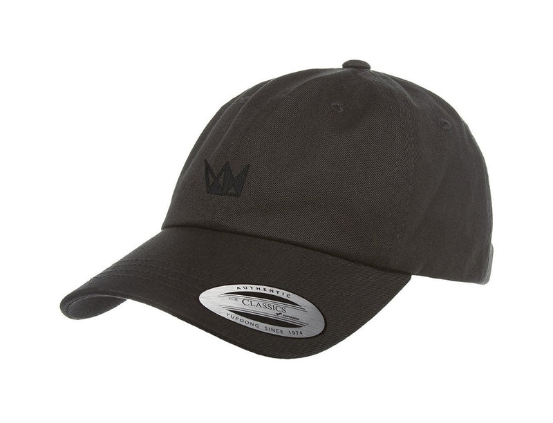 Cannabis Dad Hat CURE All Black