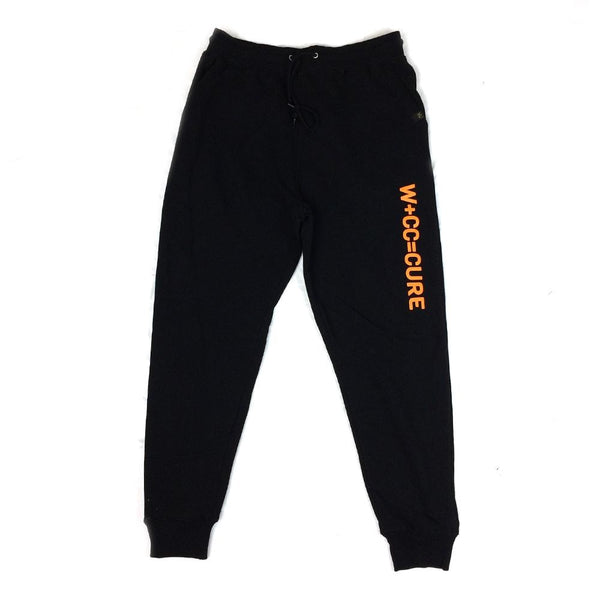 Cannabis Joggers CURE Orange Ink