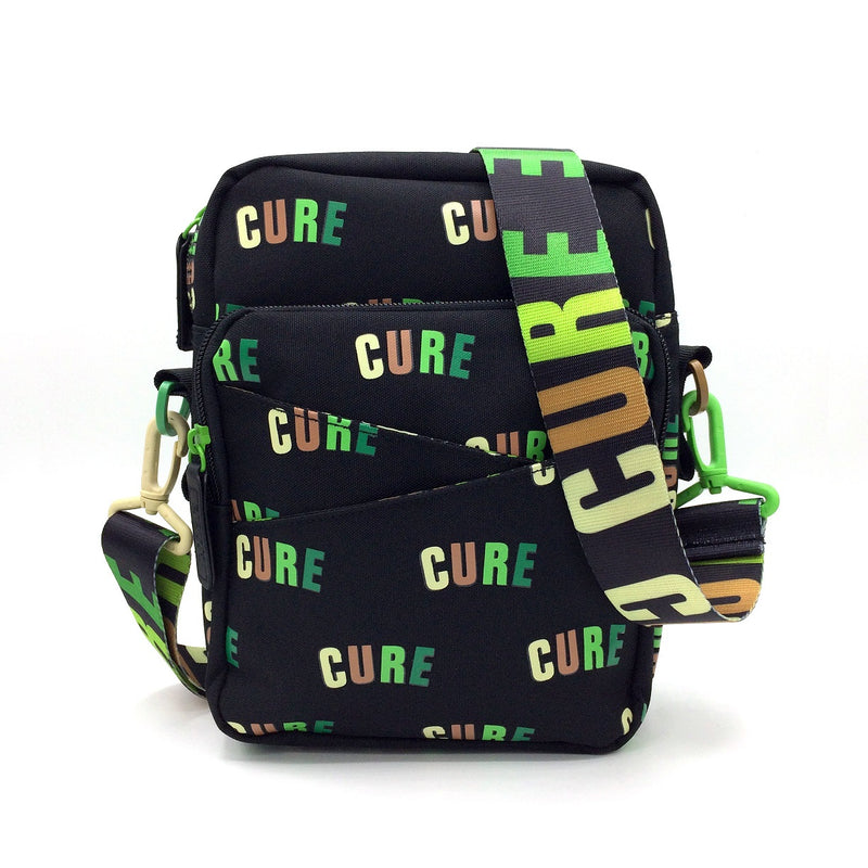 Cannabis Mini Messenger Bag Cure Green Arc