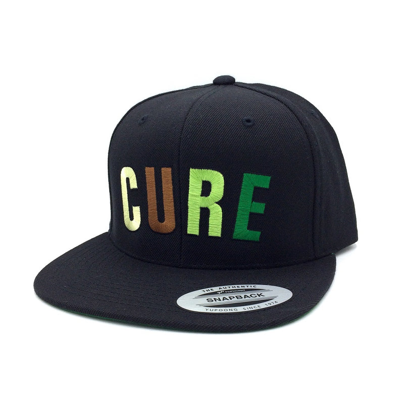 Cannabis Snapback CURE Greens Arc
