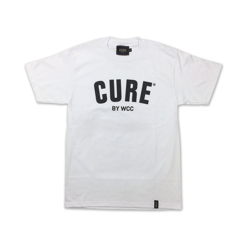 Cannabis Tee CURE Black/White