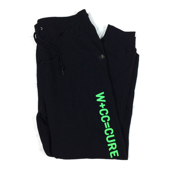 W+CC=CURE Joggers - Neon Green