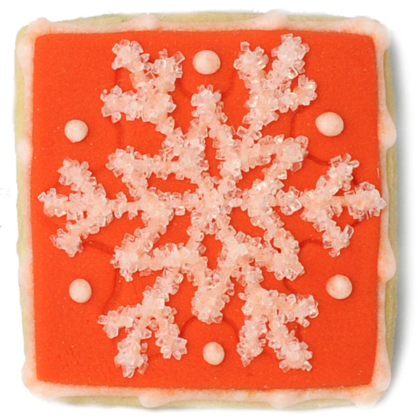 Mini Cookie - Red Snowflake