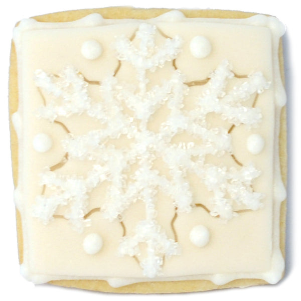 Mini Cookie - Snowflake