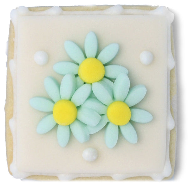 Mini Cookie - Blue Flowers
