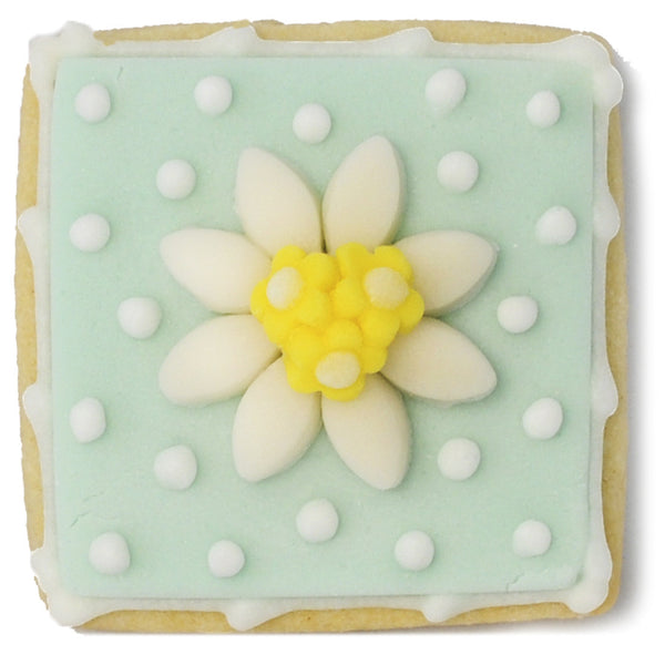 Mini Cookie - Daisy with Polkadots