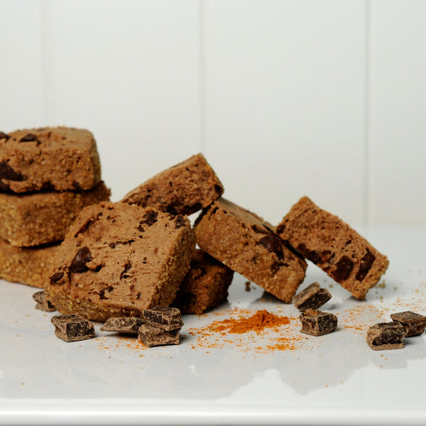 Chocolate Spice Cookies with Sugared Edge