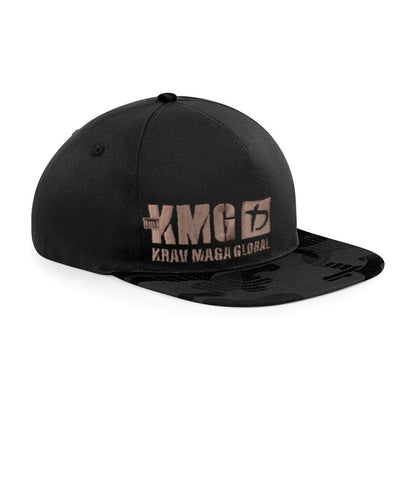 Krav Wear Camo Peak Hat with KMG Logo