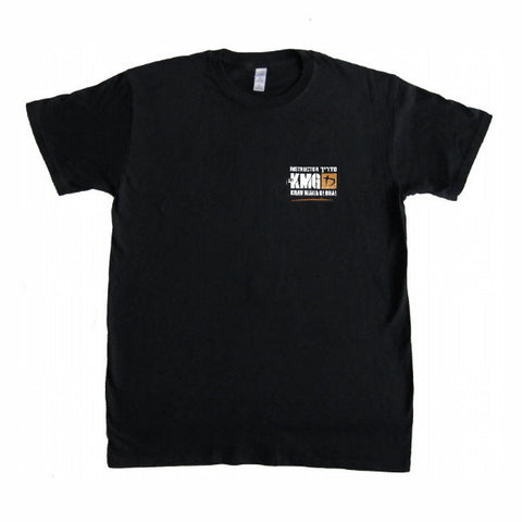 KMG Instructor T-shirt (Black Dry Fit )