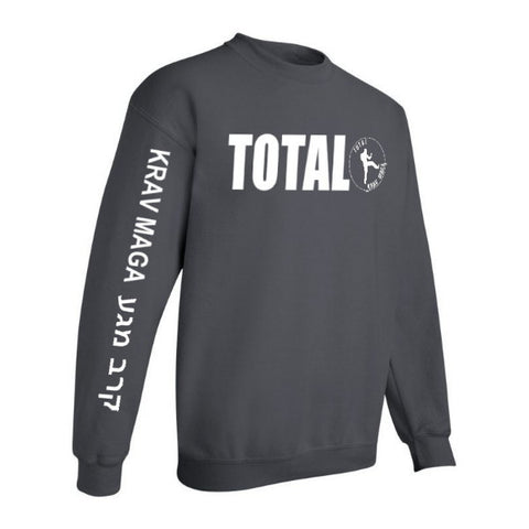 Total Krav Maga - Sweat Shirt (Hebrew Text)