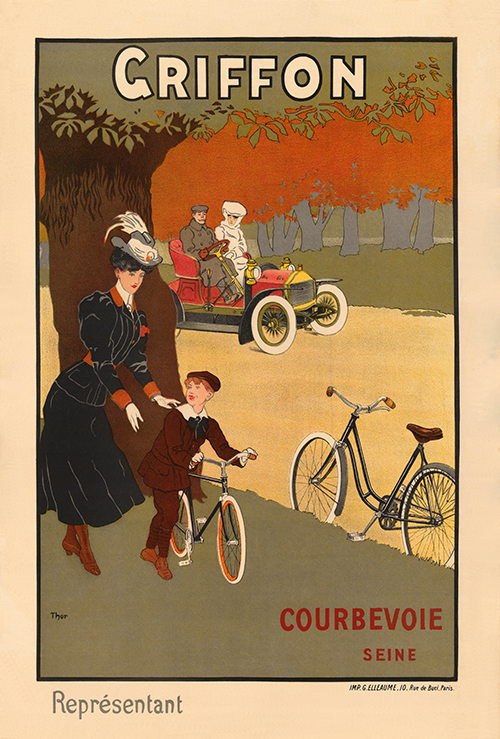 Cycles Griffon II Poster - MOLTENI CYCLING