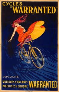 Cycles Warranted Poster - MOLTENI CYCLING