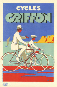 Cycles Griffon Poster - MOLTENI CYCLING
