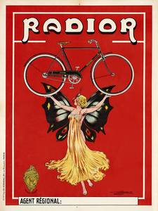 Radior Bicycle Poster - MOLTENI CYCLING