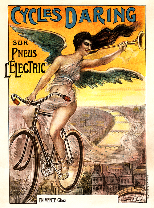 Cycles Daring Poster - MOLTENI CYCLING